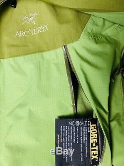 Arc'teryx Arcteryx green Alpha SV GORE-TEX ProShell Hooded Jacket Size M 31SK23