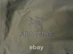 Arc'teryx LEAF Alpha LT Jacket Gen 2 Crocodile Men's Medium 18864 GORE-TEX