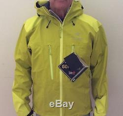Arc'teryx Men's Alpha AR Hooded Goretex Shell Jacket Medium Genepi Green #14561