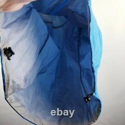 Arc'teryx Women's Alpha FL GORETEX Hooded Jacket Medium M Blue Colorblock