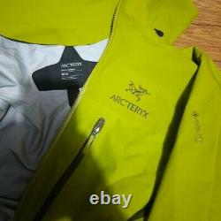 Arcteryx Alpha Ar Mens Jacket, Medium, Glade