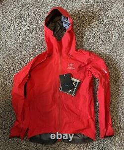Arcteryx Alpha FL Gore-Tex Jacket Men's Medium Red (Flare or Magma)
