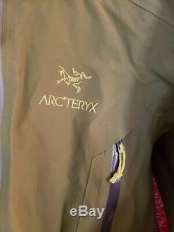 Arcteryx Alpha FL Gore-Tex Pro medium Green Used