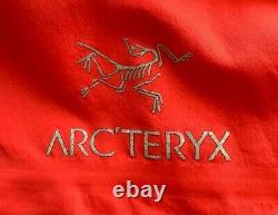 Arcteryx Alpha FL Goretex Pro Mens M Magma Excellent