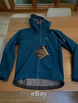 Arcteryx Alpha FL Jacket Iliad Blue Mens M NWT