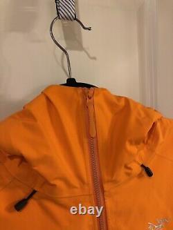 Arcteryx Alpha FL Jacket Mens Medium (Orange)