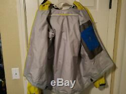 Arcteryx Alpha FL Jacket Mens Medium Yellow Slightly Used