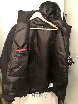 Arcteryx Alpha IS Jacket-Men's Medium Black- NWT