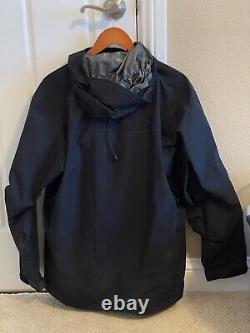 Arcteryx Alpha LT Hoody Jacket Black Medium