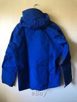 Arcteryx Alpha SV Gore-Tex Jacket Mens Medium Stellar Blue NWT Made In Canada