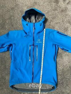 Arcteryx Alpha SV Jacket Coat Windbreaker Medium Blue