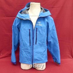 Arcteryx Alpha SV Jacket Medium Blue