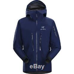 Arcteryx Alpha SV Jacket Men's Medium Blue