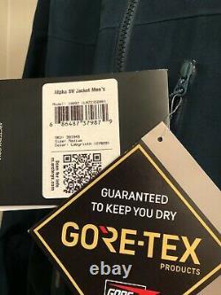 Arcteryx Alpha SV Jacket Men's Medium Labyrinth New With Tags (MSRP $799)