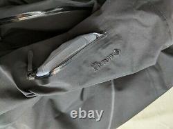 Arcteryx Alpha SV Jacket Mens Medium 24K Black 2020/2021 GORE-TEX PRO