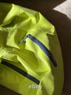 Arcteryx Alpha SV Jacket / Mens Medium / Glade Color / NWT