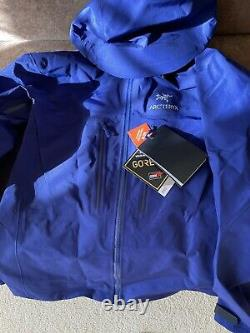 Arcteryx Alpha SV Jacket / Mens Medium / Soulsonic Color / NWT