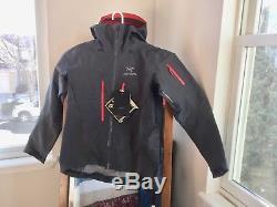 Arcteryx Alpha SV Jacket Mens NWT Medium, Pilot (Gray / Off Black)