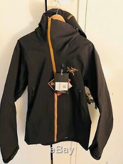 Arcteryx Alpha SV Jacket Mens Size Medium 24K Black