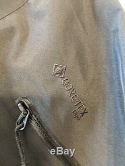 Arcteryx Alpha SV Jacket Mens Size Small 24K Black