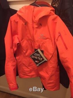 Arcteryx Alpha SV Jacket Womens Large Or Mens Medium. Brand New With Tags