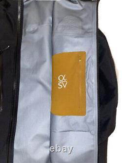 Arcteryx Alpha SV Medium 24kBlack Jacket Goretex Pro Revised Made in Canada