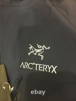 Arcteryx Alpha SV Medium Inkwell Hardshell