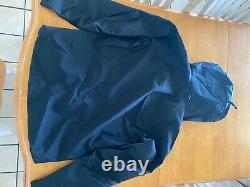 Arcteryx Alpha SV Mens Jacket Medium Black 24k Gold NWT New