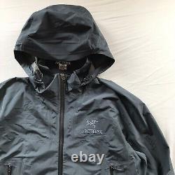 Arcteryx Beta SL Black/Blue Gore-Tex Jacket Medium Mens Alpha Beta SV AR LT