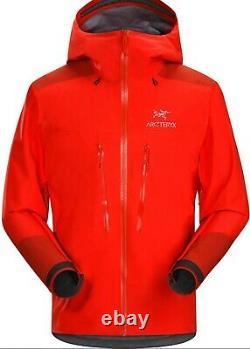 Arcteryx GoreTex Pro Alpha AR Jacket Magna Mens M