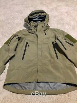 Arcteryx Leaf Alpha Jacket Gen 1 Goretex Mens Medium Crocodile
