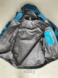 Arcteryx Mens Alpha AR Gore Tex Pro Jacket. Medium. Thalassa. RRP £500