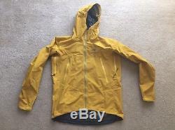 Arcteryx Mens Alpha SL jacket Color Maize Size Medium