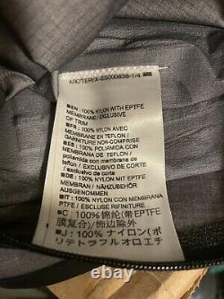Arcteryx SV Alpha Gore-Tex Jacket Size Medium Black Exc Great Deal Retail $749