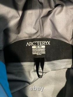 Arcteryx SV Alpha Gore-Tex Jacket Size Medium Blue Exc Great Deal Retail $749