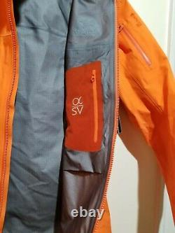 Arcteryx Women's ALPHA SV Shell Jacket GORE-TEX Pro, Size MEDIUM, Brand New