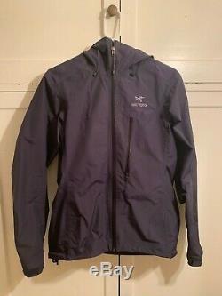 Arcteryx alpha sl womens waterproof rain jacket medium blue