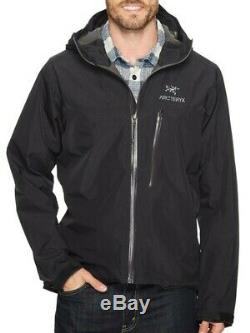 Authentic ARC'TERYX Men's Alpha SL Gore-tex Jacket Black Medium RRP £360