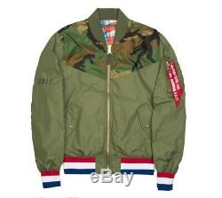 BAIT x Alpha Industries x GI JOE Mens Med Military Reversible Jacket Hasbro Sdcc
