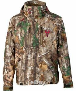 Badlands Alpha Camo Jacket for Men Lightweight Waterproof Packable Camouflage