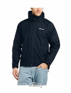 Berghaus Mens RG Alpha 3-in-1 Waterproof Jacket with Inner Fleece Medium