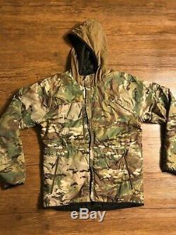 Beyond Clothing Alpha Lochi Jacket Reversible Size Medium Black Multicam