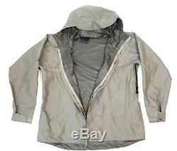 Beyond Level 6 Alpha Grey Medium Rain Combat Jacket L6 PCU Hard Shell
