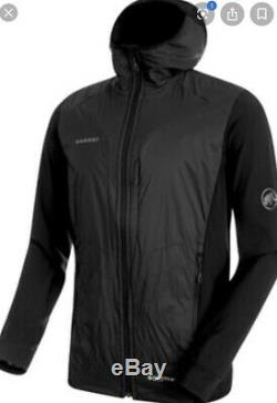 Brand New MAMMUT Men's Foraker IN Polartec Alpha Light Hooded Jacket (MEDIUM)