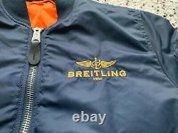 Breitling Alpha Industries Jacket Size M