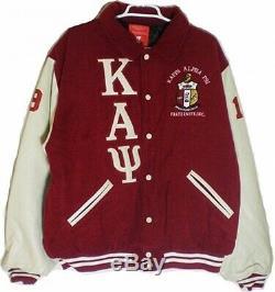 Buffalo Dallas Kappa Alpha Psi Mens Varsity Jacket
