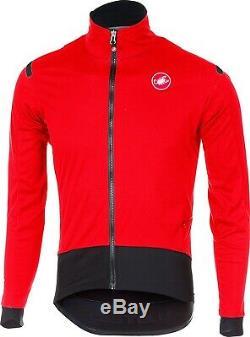 Castelli Alpha ROS Light Cycling Jacket Medium Red/Black Blemished