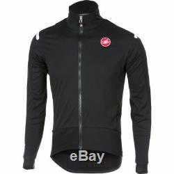 Castelli Alpha ROS Light Jacket Jersey Light Black/Black Medium NEW RRP £220.00
