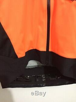 Castelli Alpha Ros Jacket Medium Orange RRP £280