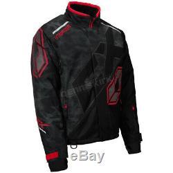 Castle X Alpha Black/Red Vapor Jacket (Mens M / Medium) 70-6754